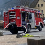 HLF 10/10 im Brandeinsatz