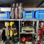 G3 mit Pressluftatmern für den Wassertrupp
