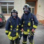 Spezialausbildung zum Atemschutzgeräteträger – Zwei neue AGTs für die Einheit Braubach