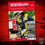 """Feuerwehr Braubach auf dem Cover der """"Brandhilfe"""""""