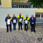 Verstärkung für die Einheit Braubach – Zwei Neuverpflichtungen, ein Rückkehrer und ein Jubilar